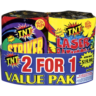 2 FOR 1 VALUE PAK