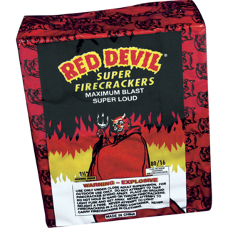 80/16 RED DEVIL FIRECRACKERS