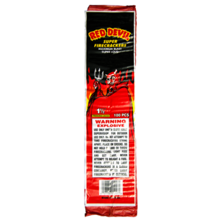 RED DEVIL FIRECRACKERS 100