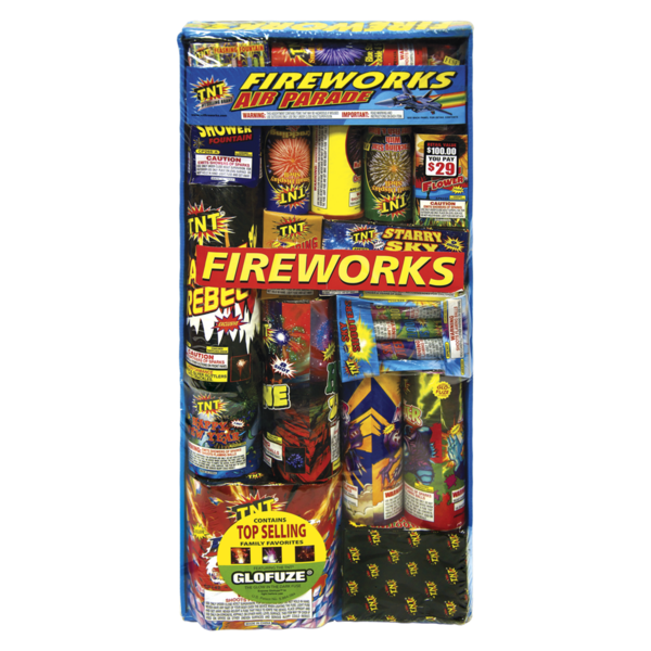 Firework Assortment Air Parade