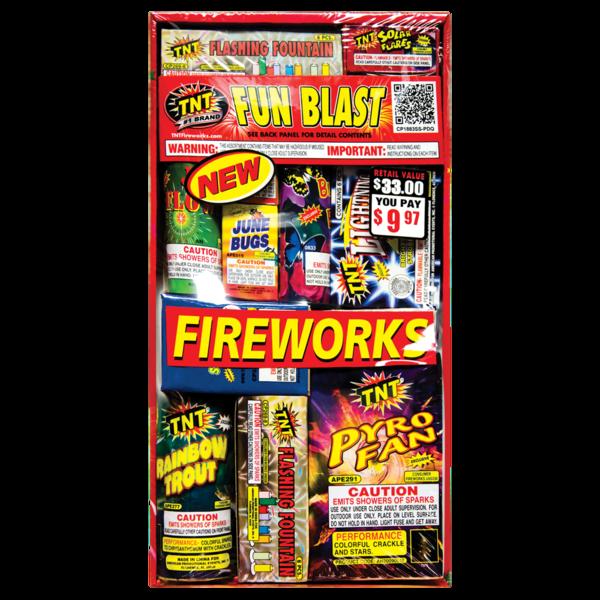 Firework Assortment Fun Blast