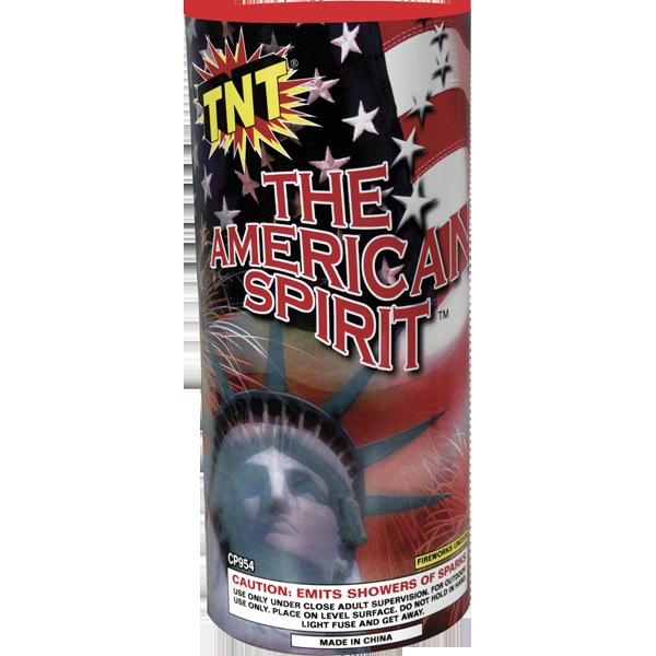 Firework Fountain American Spirit Ftn