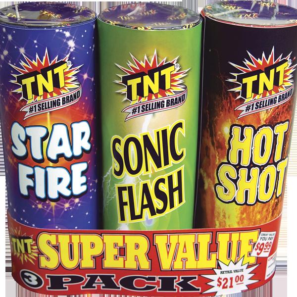 500 Gram Firework Fountain Super Value Pack
