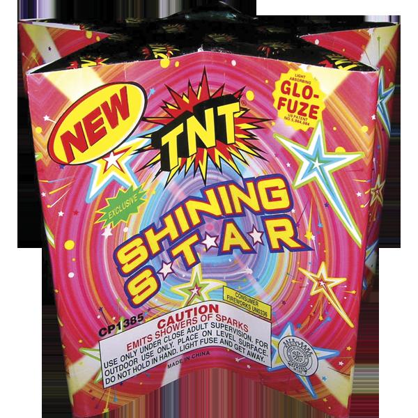 Firework Fountain Shining Star