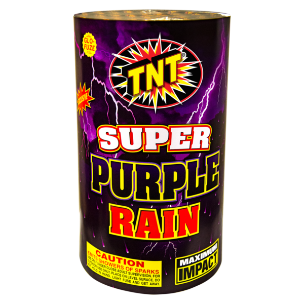 500 Gram Firework Fountain Super Purple Rain