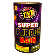 500 Gram Firework Fountain Super Purple Rain Thumbnail 1
