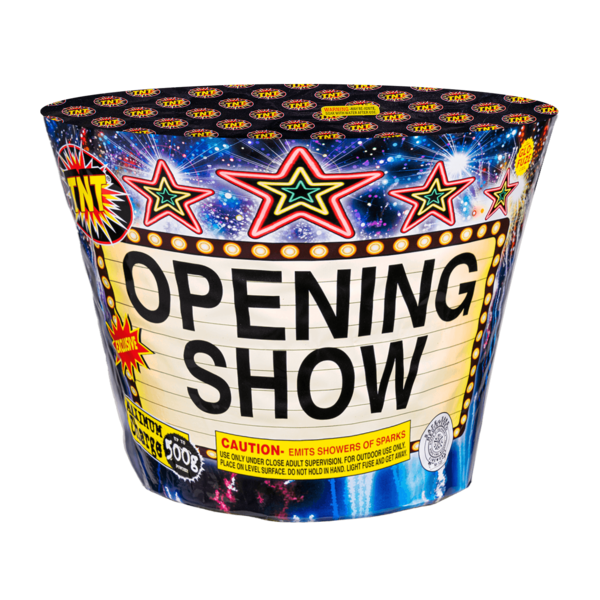 500 Gram Firework Fountain Opening Show