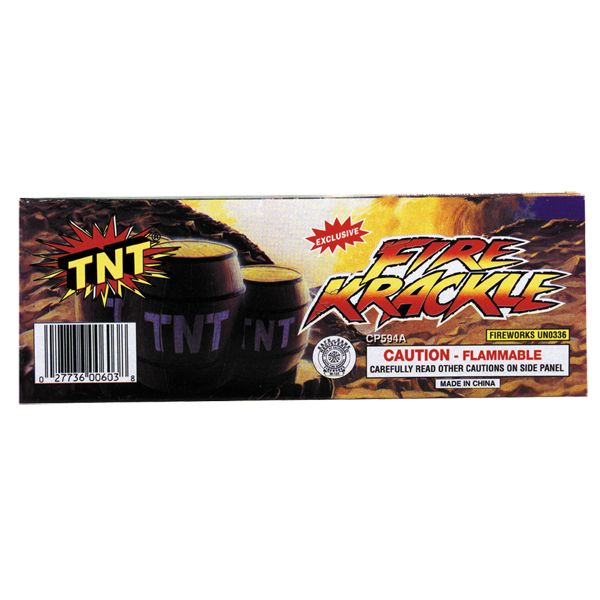 Firework Novelty Sparkler Fire Krackle Tnt
