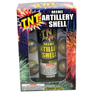 Firework Reloadable Mini Artillery Shell   Tnt