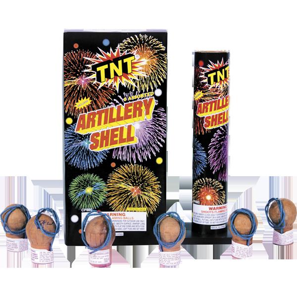 Firework Reloadable Artillery Shell