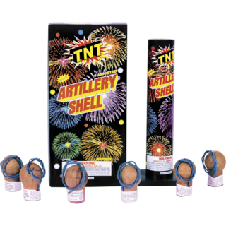 Firework Reloadable Artillery Shell
