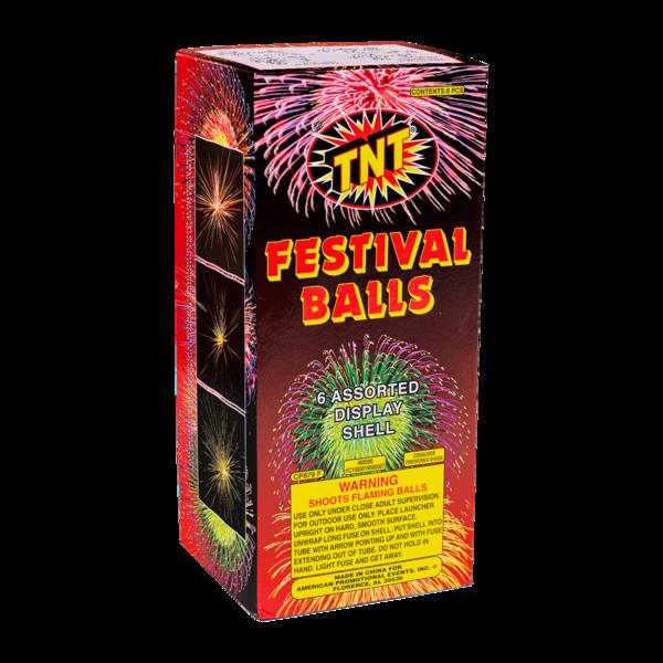 Firework Reloadable Festival Balls