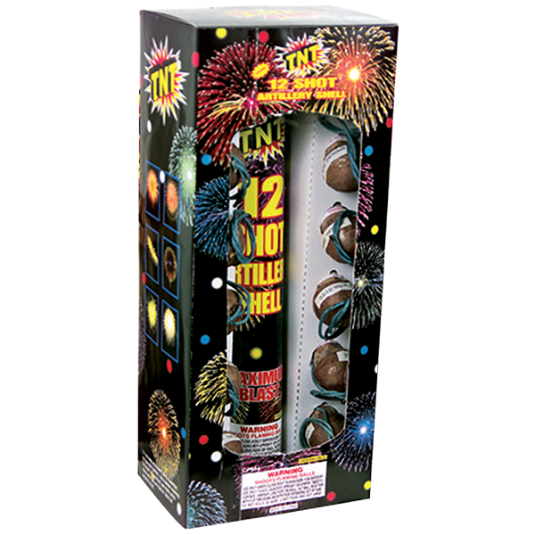 Firework Reloadable 12 Shot Tnt