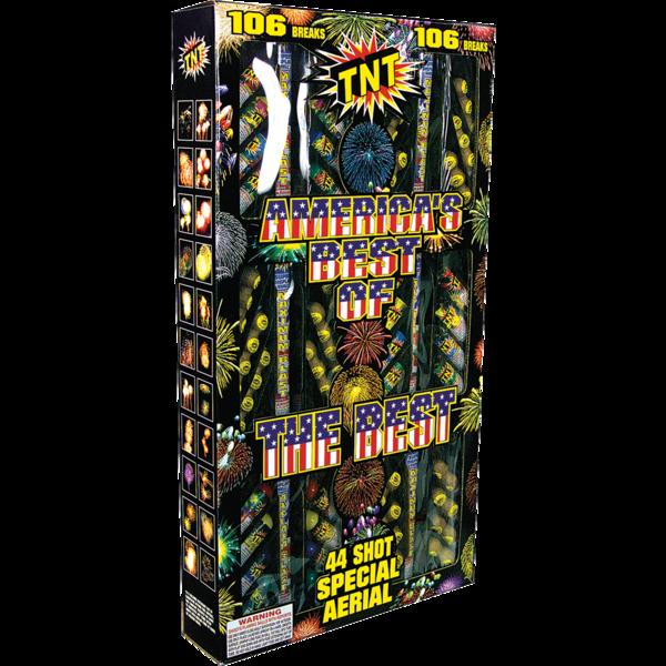 500 Gram Firework Reloadable America's Best Of The Best