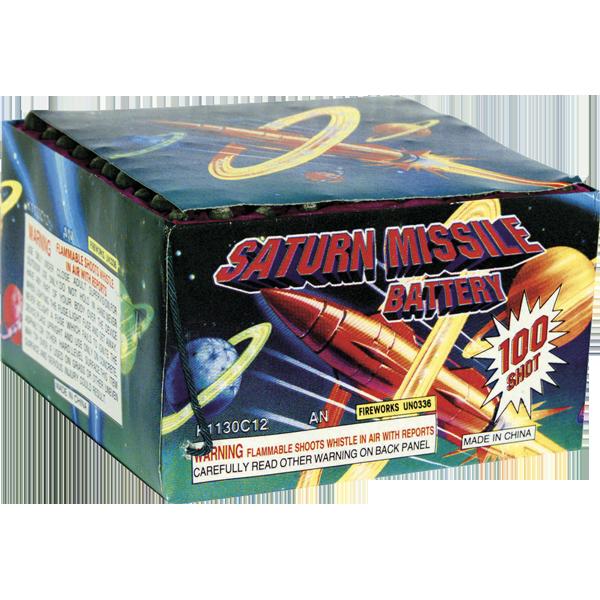 Firework Aerial Finale Saturn Missile 100 Shot