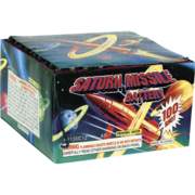 Firework Aerial Finale Saturn Missile 100 Shot Thumbnail 1