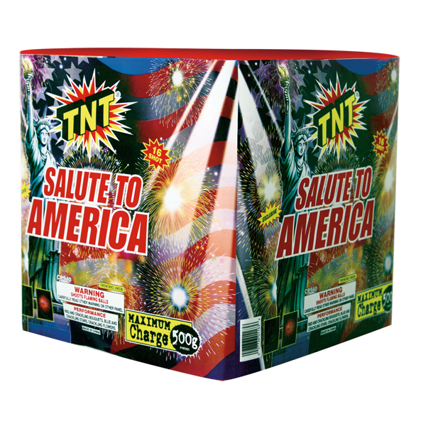 500 Gram Firework Aerial Finale Salute To America