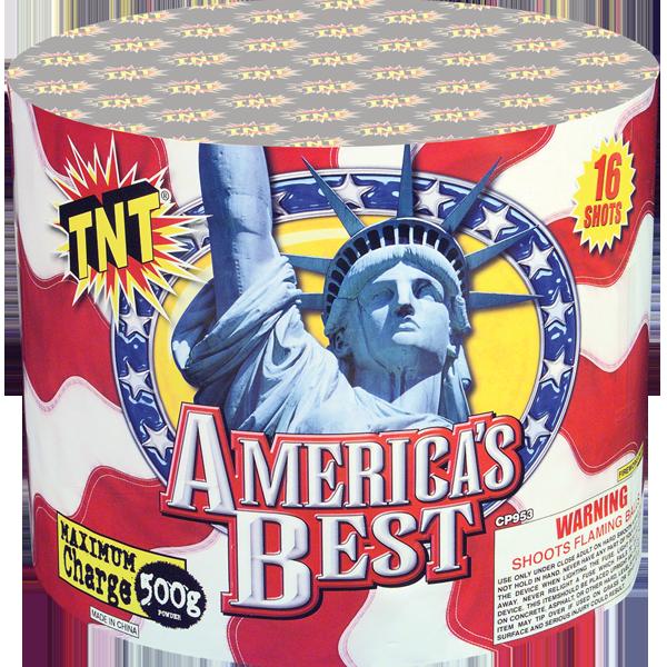 500 Gram Firework Aerial Finale America's Best