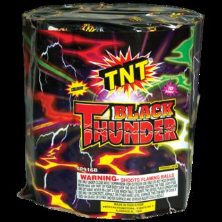 Firework Aerial Finale Black Thunder