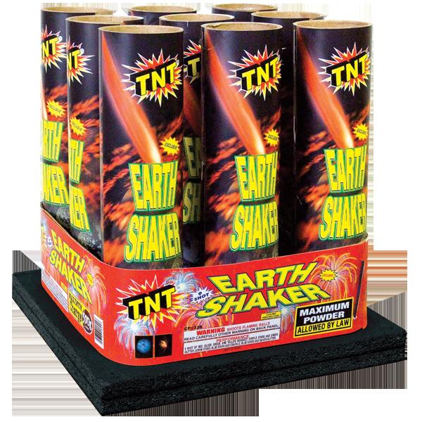 500 Gram Firework Aerial Finale Earth Shaker