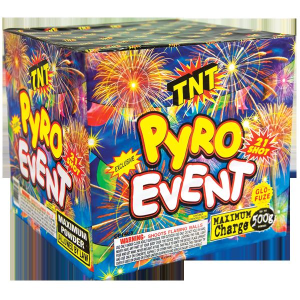 500 Gram Firework Aerial Finale Pyro Event