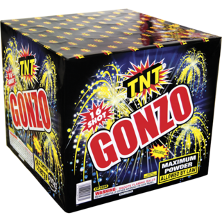 500 Gram Firework Aerial Finale Gonzo