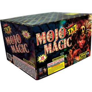 500 Gram Firework Aerial Finale Mojo Magic