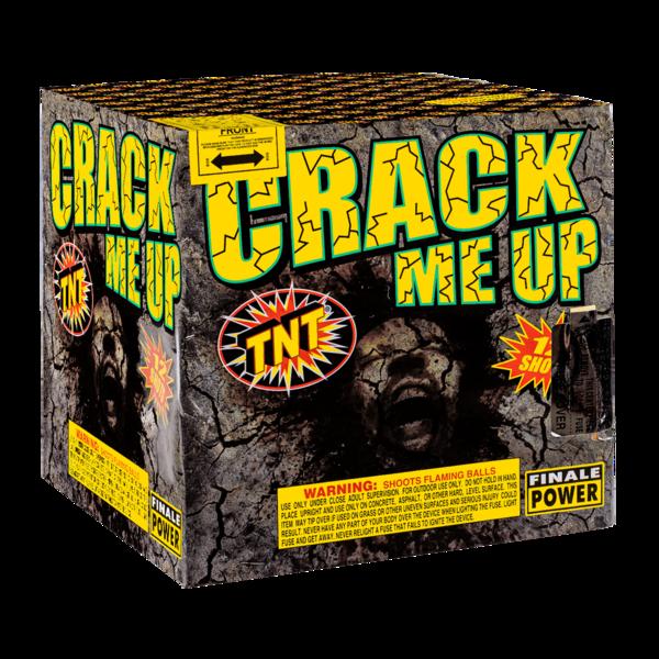 500 Gram Firework Aerial Finale Crack Me Up