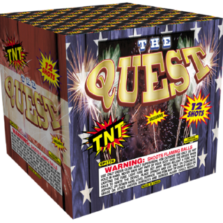 500 Gram Firework Aerial Finale The Quest