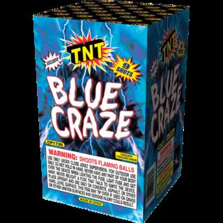 Firework Aerial Finale Blue Craze
