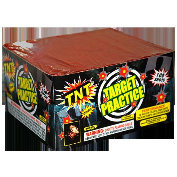 Firework Aerial Finale Target Practice