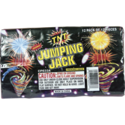 Firework Novelty Sparkler Jumping Jacks Thumbnail 1