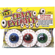 Firework Novelty Sparkler Crazy Eye Balls  Thumbnail 1
