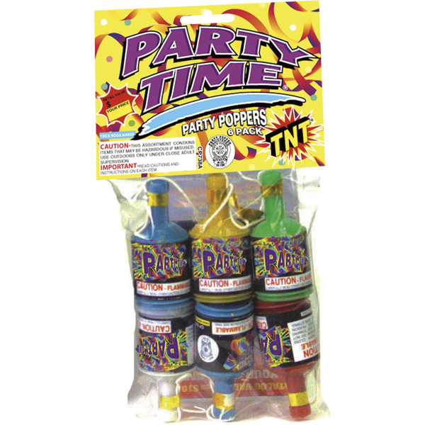 Firework Novelty Sparkler Party Time Party Poppers