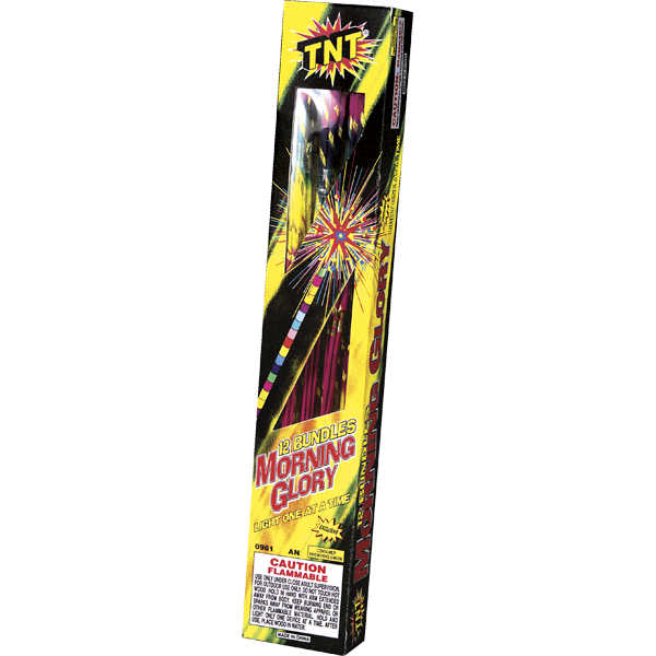 Firework Novelty Sparkler 14 Morning Glory Torch