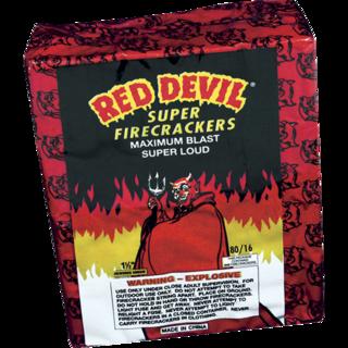 Firework Firecracker 80/16 Red Devil Firecrackers