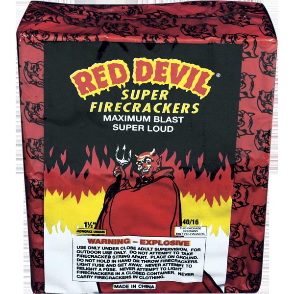 Firework Firecracker 40/16 Red Devil Firecrackers