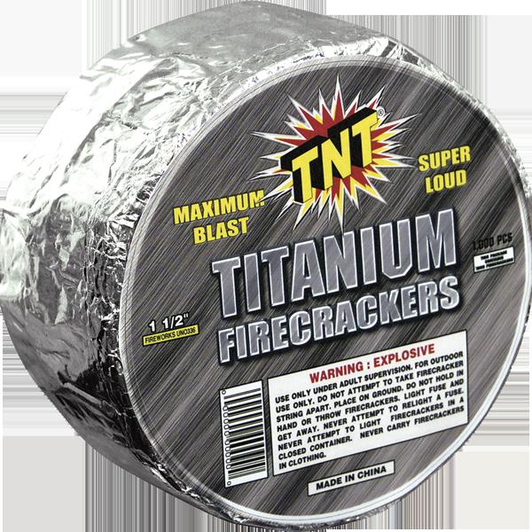 Firework Firecracker Titanium Cracker   1000 Roll