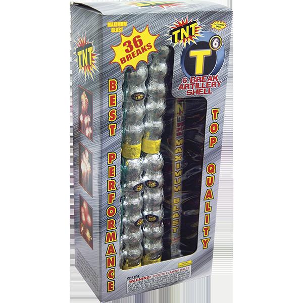 Firework Reloadable T6 Artillery