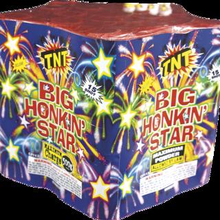 500 Gram Firework Aerial Finale Big Honkin Star