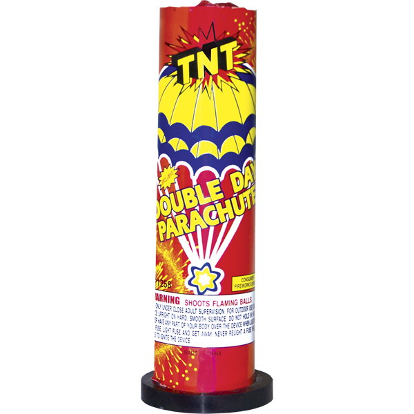 Firework Novelty Sparkler Tnt Double Parachute