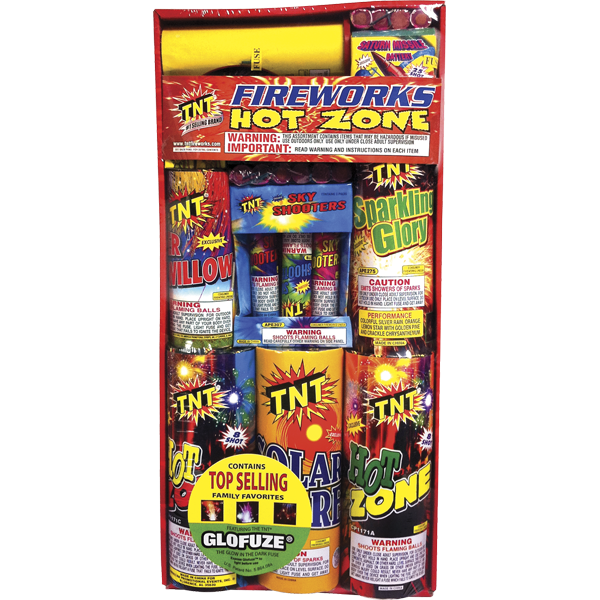 Firework Assortment Hot Zone