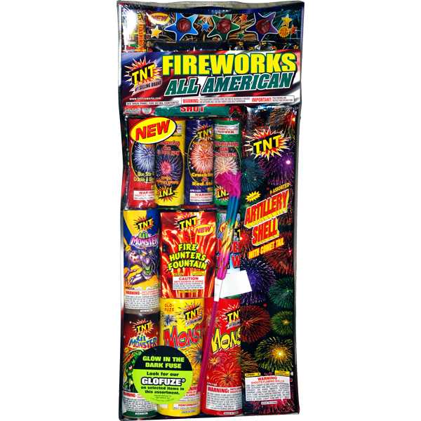 Firework Assortment All American Assortment