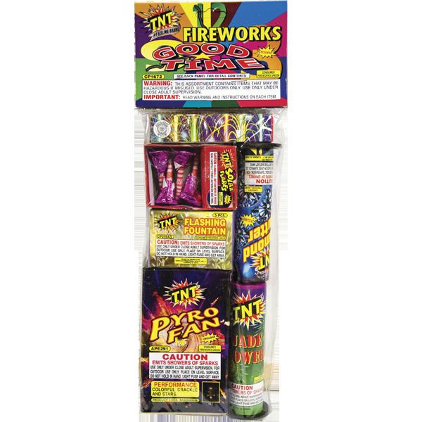 Firework Assortment Good Time Bag
