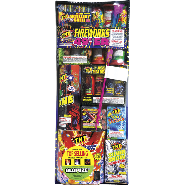 Firework Assortment 49'er