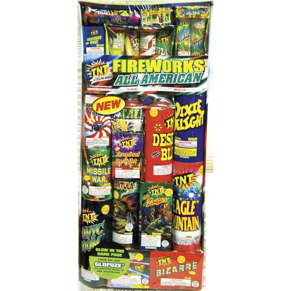 Firework Assortment All American