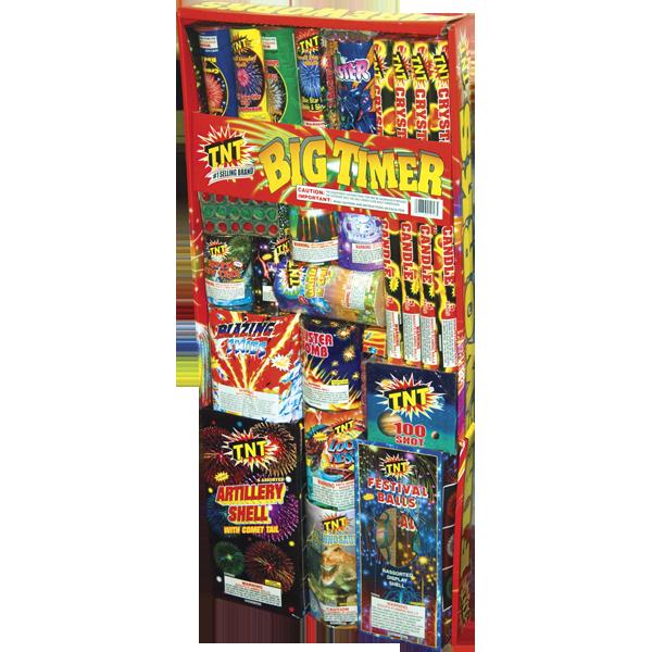 Firework Assortment Big Timer