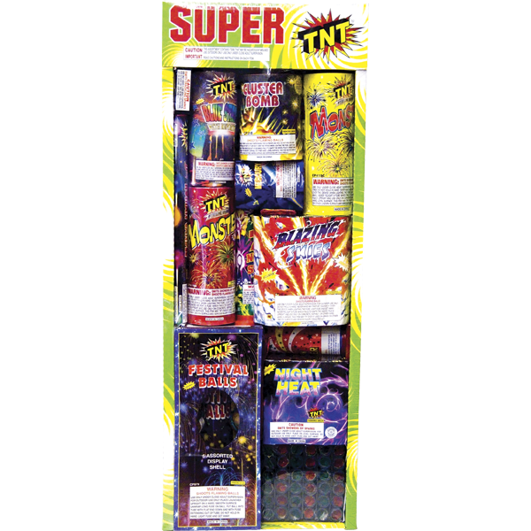 Firework Assortment Super Tnt Tray