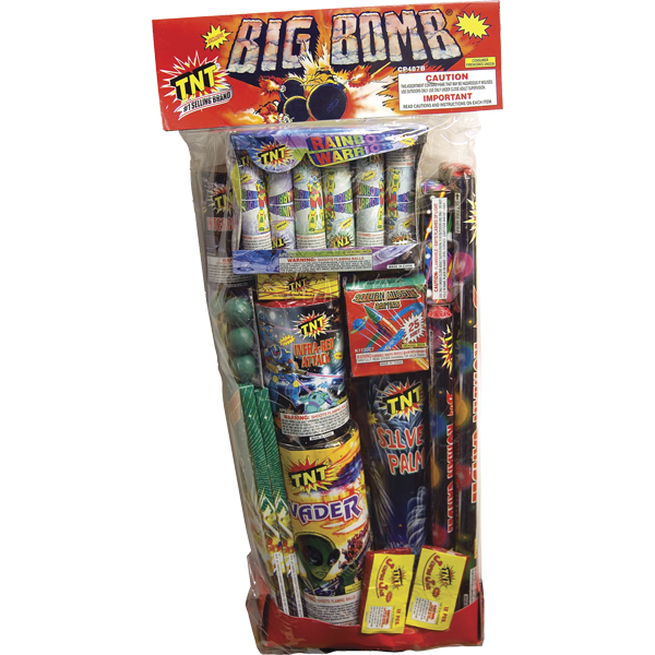 Firework Assortment Big Bomb Polybag
