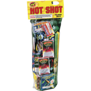 Firework Assortment Hot Shot Polybag  Thumbnail 1